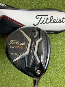 Titleist 917F2 16.5* Fairway Wood, Diamana Regular Flex, RH