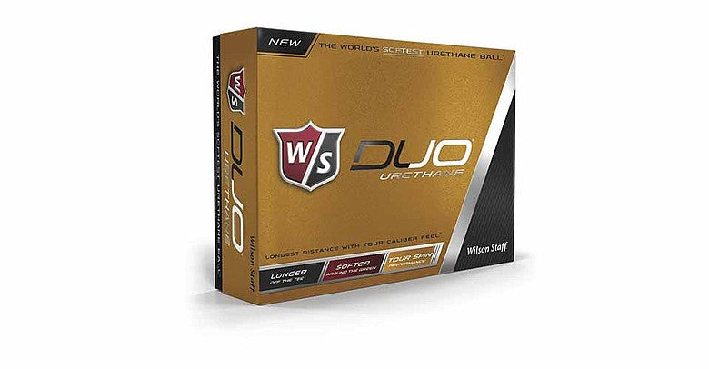 Wilson Staff Duo Urethane Golf Balls - One Dozen - White