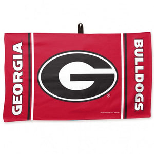 "University of Georgia Bulldogs Team Effort Waffle Towel- 14""x 24"""