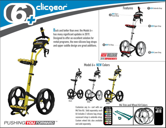 Clicgear 6+ Push Cart