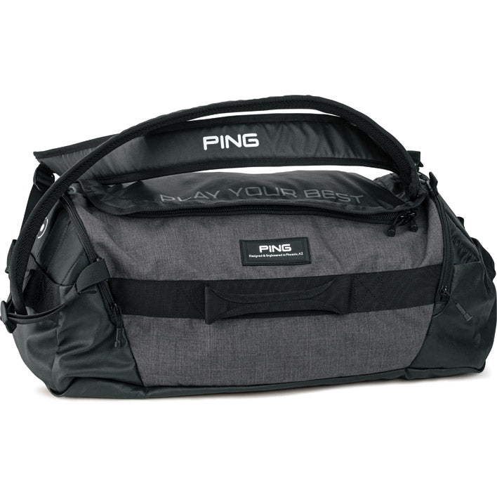 Ping Duffel Bag- Heathered Grey