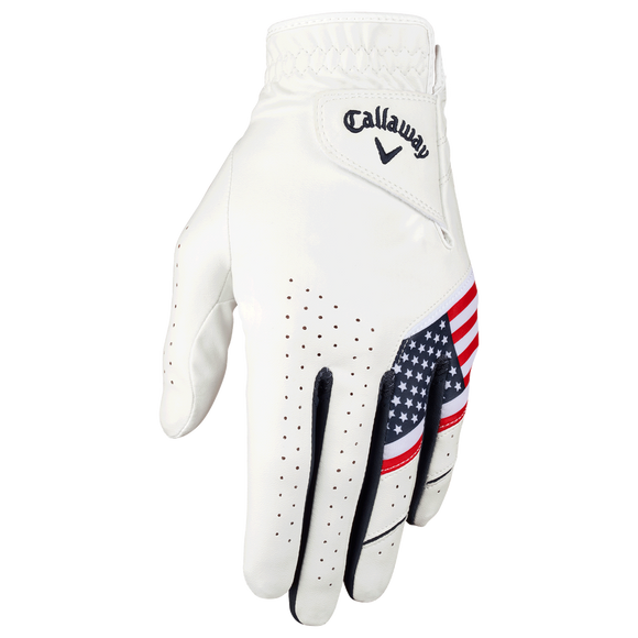 Callaway Weather Spann USA Glove- Worn on Left Hand