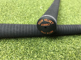 New Ping Golf Pride Tour Velvet Ribbed Jumbo Size Grip- Orange- Single Grip - Bogies R Us Golf Shop LowCountry Custom Golf