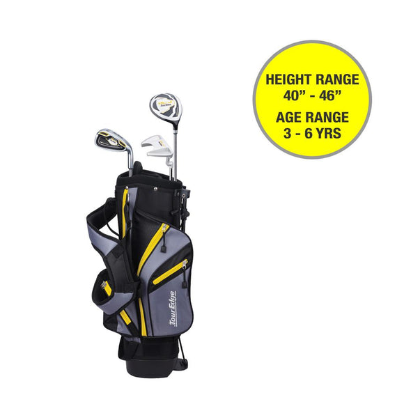 Tour Edge Hot Launch HL-J Junior Set- 3-6 Yrs- 40
