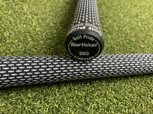 Golf Pride Tour Velvet 360 White Standard Size Grip