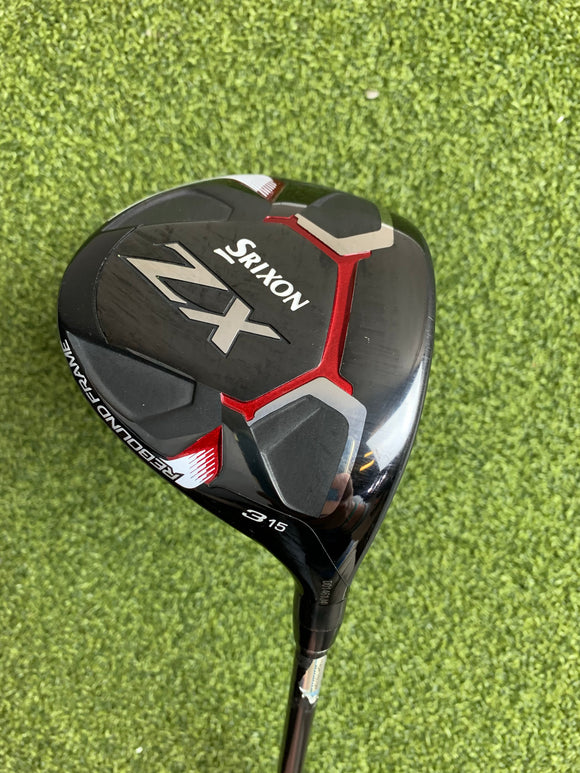 Srixon ZX 3 15* Fairway Wood, Riptide Stiff Flex, RH