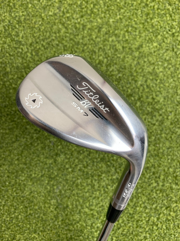 Titleist Vokey SM7 58.12* Wedge, Stock Wedge Flex, RH