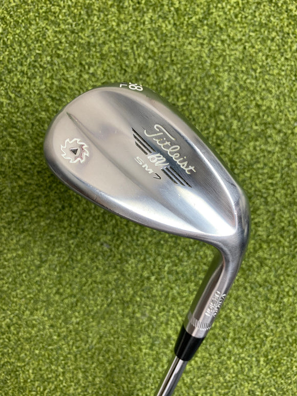 Titleist Vokey SM7 58.04* Wedge, Stock Wedge Flex, RH