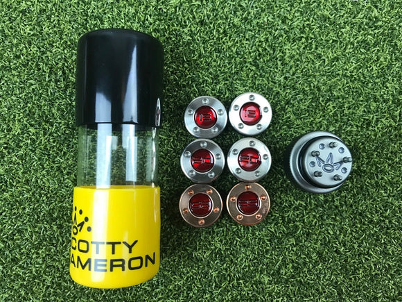 Scotty Cameron Sole Weight Kits+ Tool-Heavy Mallet- 3 wt Set. 15g, 20g & 25g
