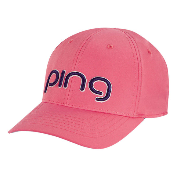 New 2018 Ping Ladies Performance Adjustable Hat/Cap- Peony/Navy - Bogies R Us Golf Shop LowCountry Custom Golf