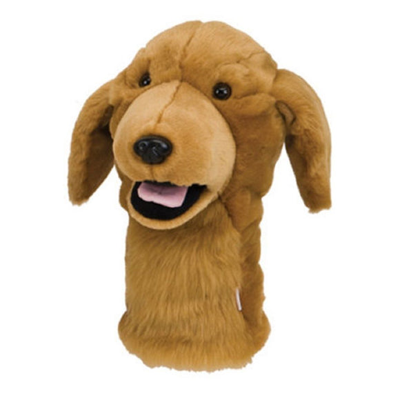 New Daphne's Driver Headcover- Golden Retriever