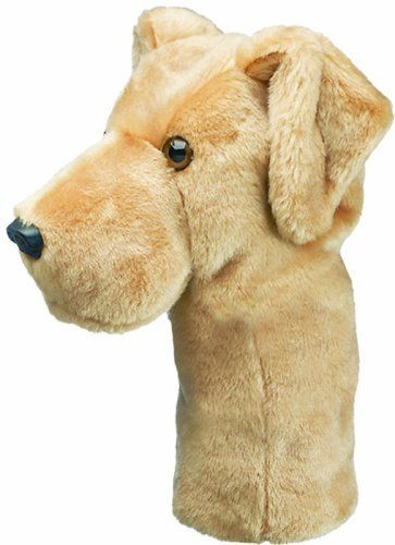 Daphne's Driver Headcover- Yellow Lab