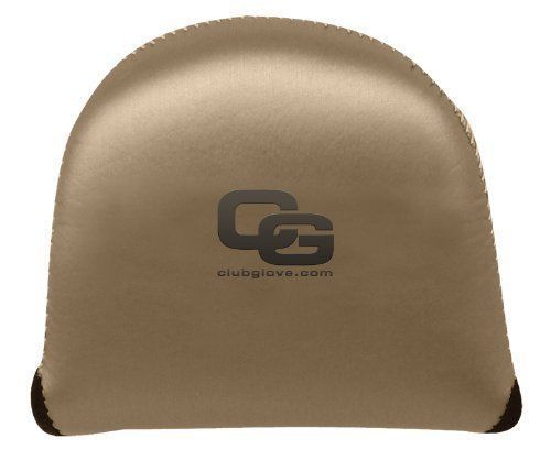 New Club Glove XL Gloveskin Mallet Putter Cover- Brushed Metal- Left Hand - Bogies R Us Golf Shop LowCountry Custom Golf