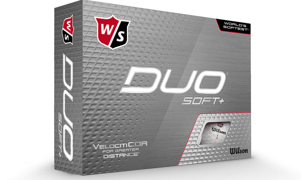 Wilson Duo Soft+ Golf Balls- Dozen