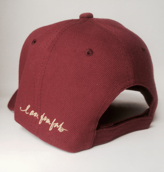 LOVE! I AM FemFab - Maroon Cap