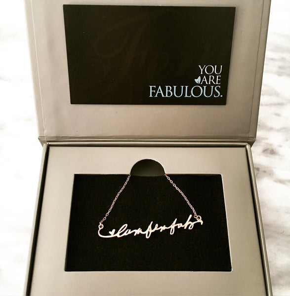 I AM FemFab Necklace - Limited Edition - SOLD OUT!