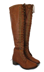 Gypsy Lace-Up Boots