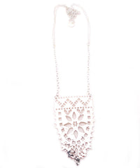 Metal Lace Necklace by Raw Elements Jewelry