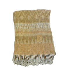 Peruvian Alpaca Mohair Throw
