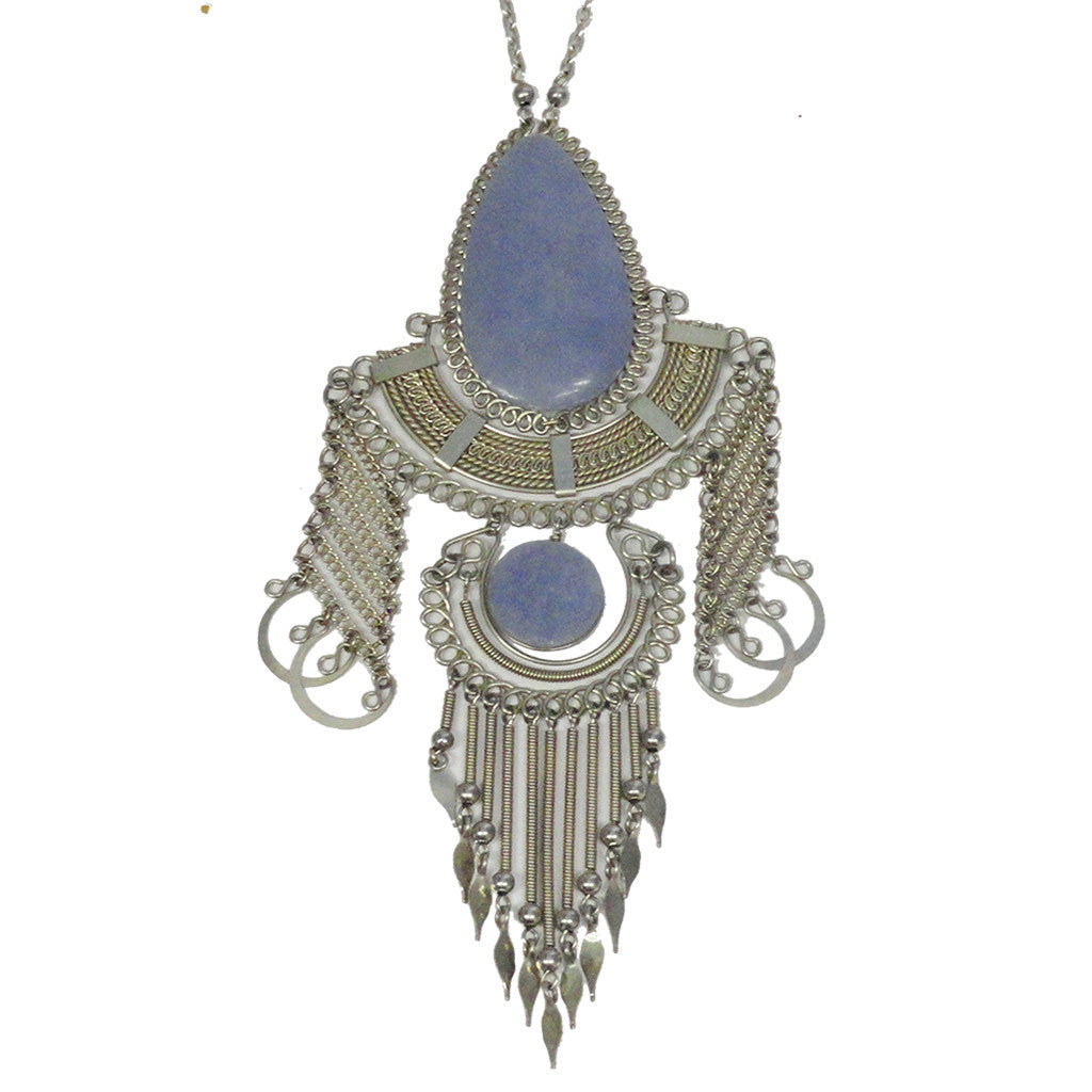 boholani products peruvian necklaces peruviangoddessnecklacekyanite goddess necklace
