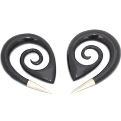 Silver Tipped Spiral Plugs