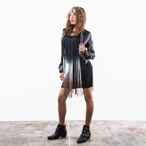 Fringe Element Tank Dress