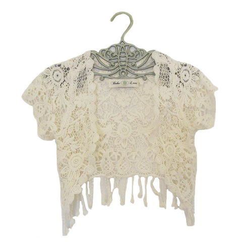 Victorian Lace Cropped Blouse