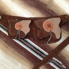 Side Saddle Pocket Belt