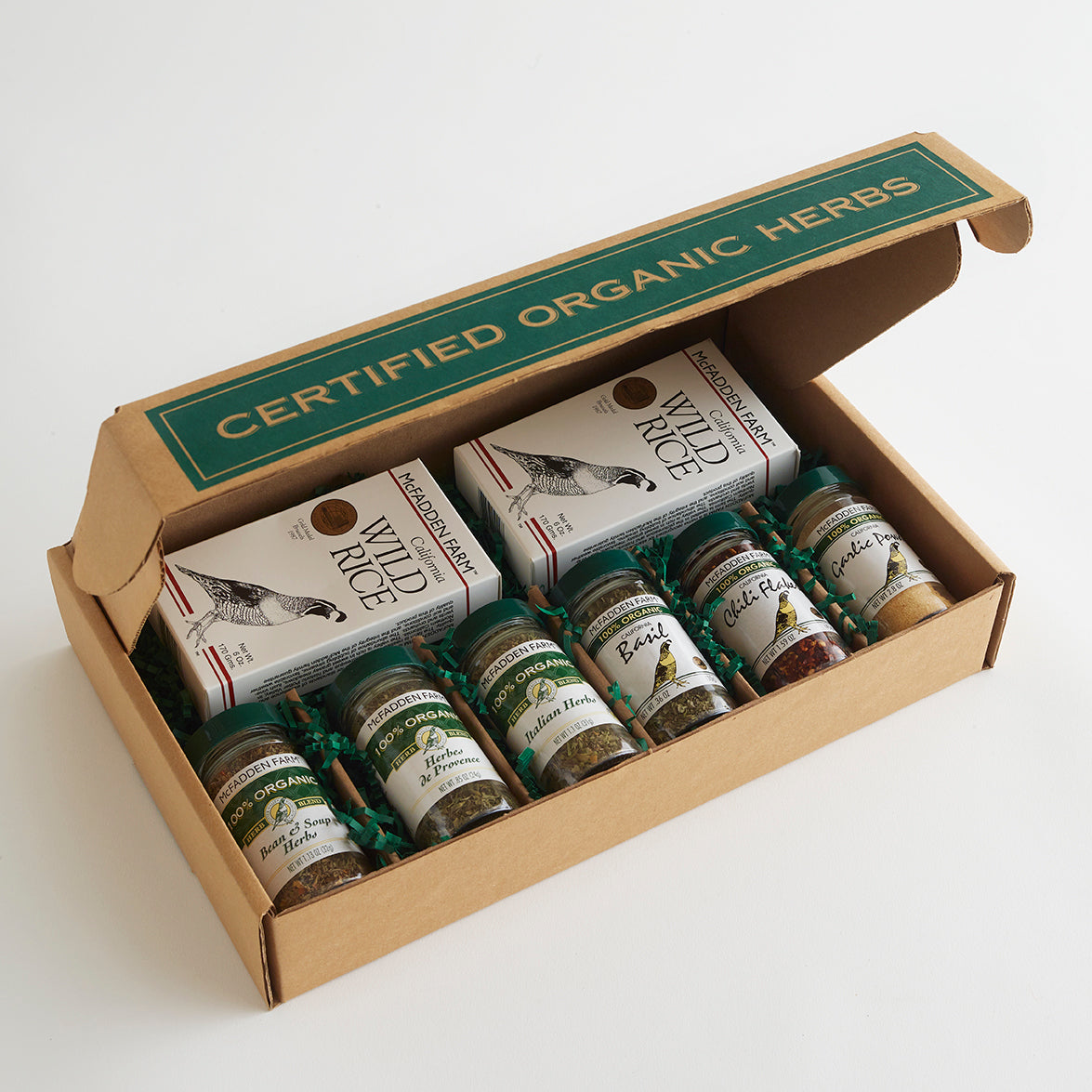 Wild Rice & Herbs Gift Box - Large