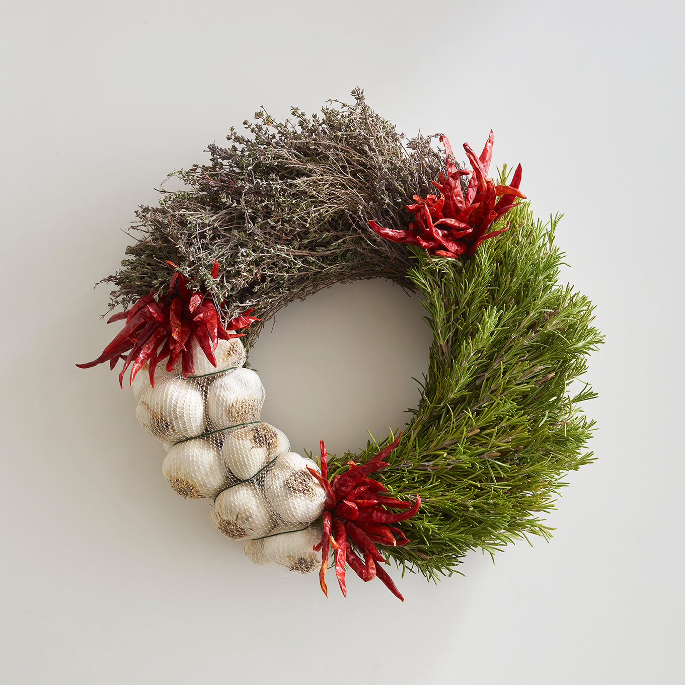 Garlic and Herb Wreath