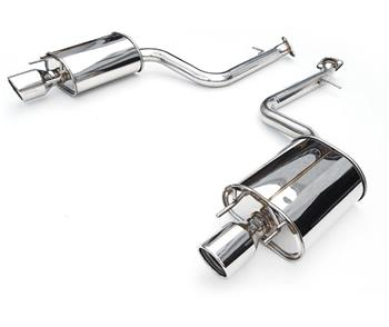 Invidia Q300 Stainless Steel Tip Axle Back (No Mid Pipe) - Lexus IS200T 15-UP (70mm) - Mafia Motorsports