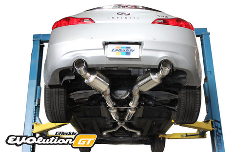 GReddy Evolution GT Catback Exhaust - Infiniti G37 Coupe 2008-2014