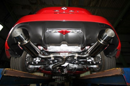 Invidia N1 Dual Stainless Steel Tips Cat-back Exhaust - Subaru BRZ/ Scion FR-S 2012+ - Mafia Motorsports