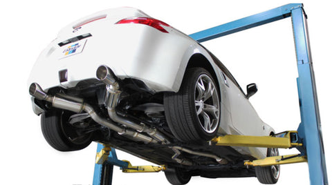 GReddy EVOlution GT Catback Exhaust - Nissan 370z 09-14