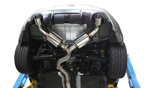 GReddy EVOlution GT Catback Exhaust - Scion FRS / Subaru BRZ