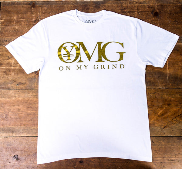Brand new summer edition white/gold  OMG