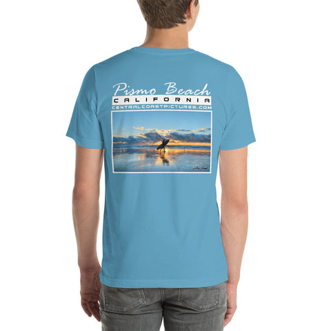 PISMO BEACH Unisex Short-Sleeve T-Shirt (click to choose color)