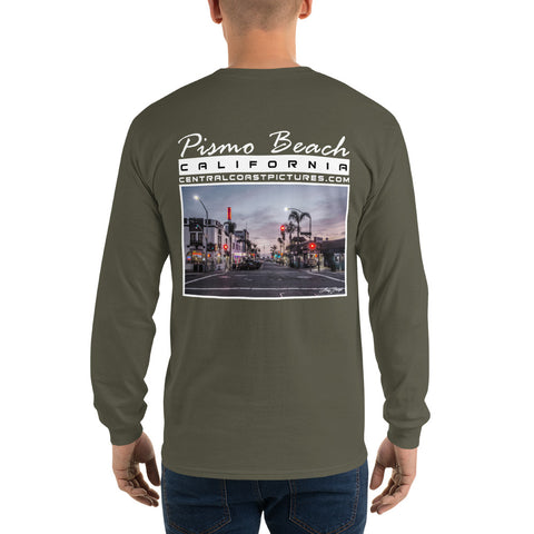 PISMO BEACH Unisex Long-Sleeve T-Shirt (click to choose color)