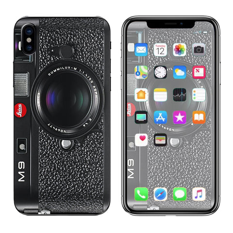 Camera M9- Leica Apple iPhone X Skin