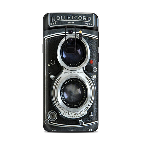 Camera- Rolleicord Samsung Galaxy S9 Plus Skin