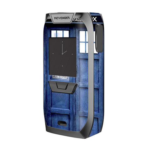 Phone Booth, Tardis Call Box Vaporesso Revenger Skin