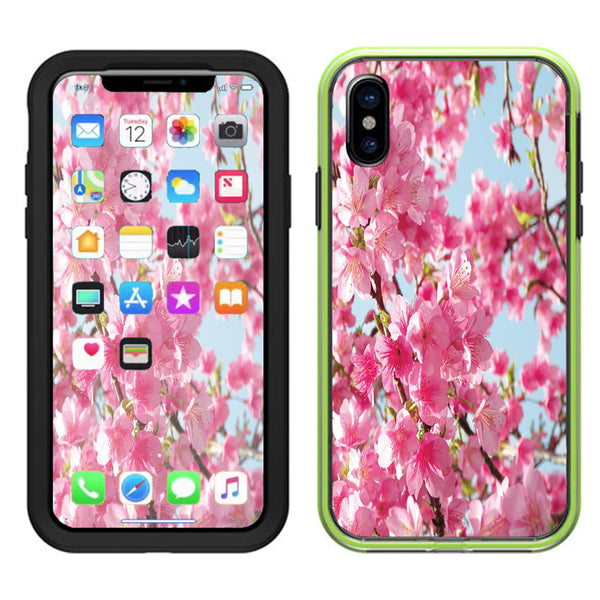 huge selection of cad4e eb7ef Cherry Blossom Lifeproof Slam Case iPhone X Skin