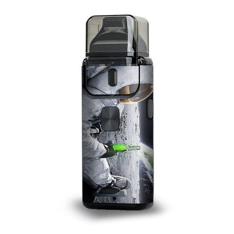 Astronaut Having A Beer Aspire Breeze 2 Skin
