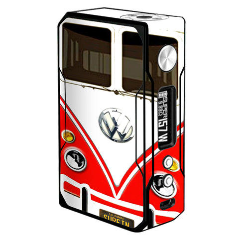 Vw Bus Red, Split Surfer Voopoo Drag 157w Skin