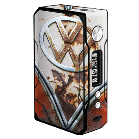 Vw Bus Rust, Split Window Van Voopoo Drag 157w Skin