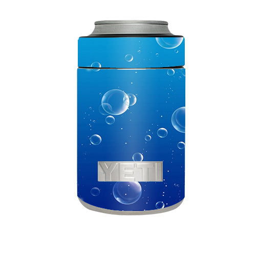 Water Bubbles Yeti Rambler Colster Skin