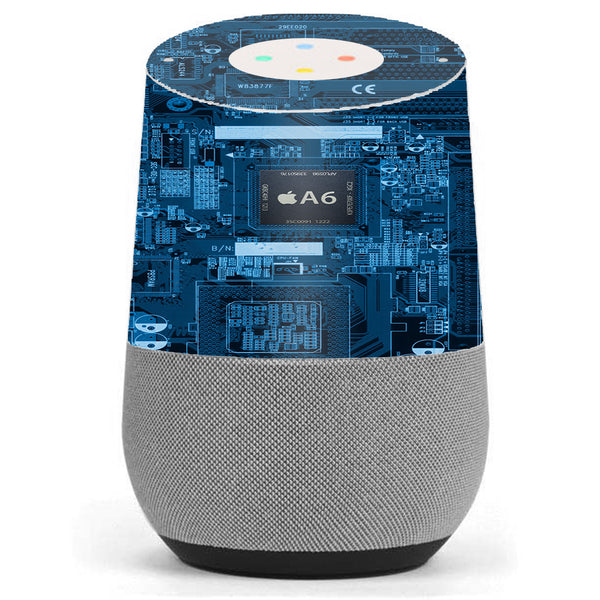 Circuit2 Blue Google Home Skin