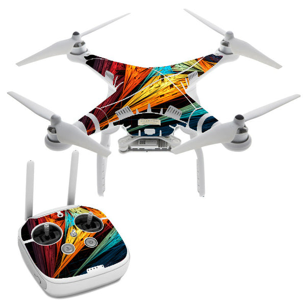 Sharp Colors DJI Phantom 3 Professional Skin