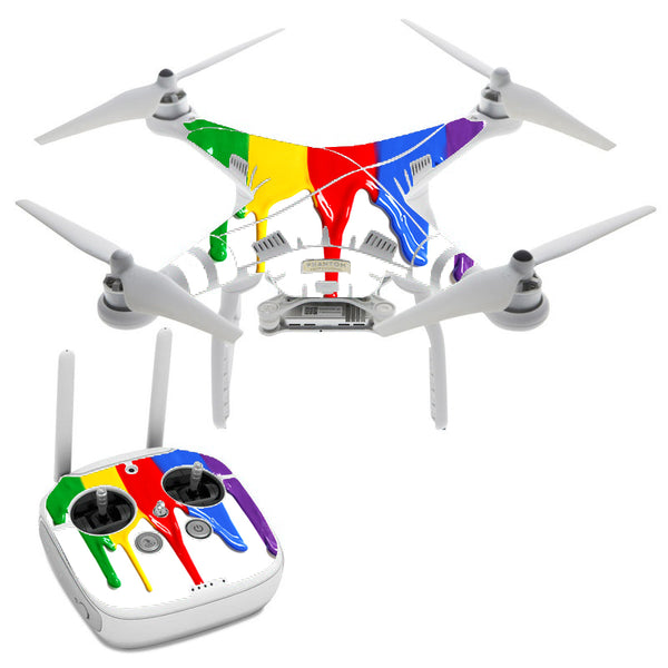 Dripping Paint DJI Phantom 3 Professional Skin