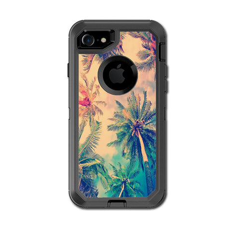 Coconut Trees Otterbox Defender iPhone 7 or iPhone 8 Skin